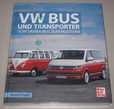 Bildband VW Bus und Transporter T1 T2 T3 T4 T5 T6 vom Samba Bus zum Multivan NEU