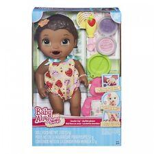 Baby Alive Súper bocadillos Snackin 'Lily afroamericanos