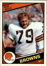 1984 Topps #53 BOB GOLIC Cleveland Browns RC ROOKIE Card ! MUST ! SEE!!