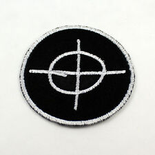 Zodiac Killer - Symbol - True Crime - 3 inch Patch Iron on or Sew on