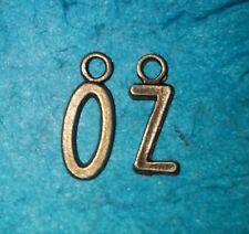 Pendant Letter Charms OZ Charm Wizard of OZ Charm Bronze Charms Emerald City OZ