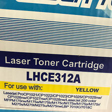 YELLOW toner  for HP LaserJet CP1025NW Pro M275NW Pro 100 MFP M175A CE312A