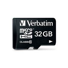 VERBATIM MICROSDHC CARD 32GB CLASS 10 INKL. SD-CARD ADAPTER RETAIL-BLISTER