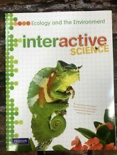 New! Interactive Science Ecology Environment Middle School Workbook Pearson Book