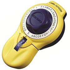 Dymo Tape Label Writer Kyutikon 9mm width Alphanumeric Yellow DM20008 from Japan
