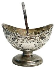 Ball Tompkins & Black New York American Coin Silver Repousse Basket c1840