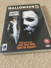 Halloween 5 -The Revenge of Michael Myers Dvd Donald Pleasence, Harris Horror