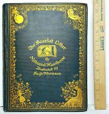 1920 THE SCARLET LETTER Satan 1ST EDITION Sex SALEM WITCHCRAFT Occult HAWTHORNE