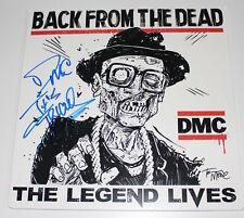 RUN DMC SIGNED AUTHENTIC BACK FROM THE DEAD RSD VINYL RECORD ALBUM LP COA PROOF