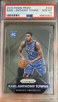 2015 Panini Prizm Rookie Karl Anthony Towns Gem Mint 10 All Star Timberwolves