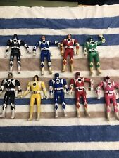 BANDAI MIGHTY MORPHIN POWER RANGERS LOT OF 9 FIGURES L@@K!!! Vintage & Modern
