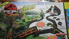 Lost World Jurassic Park TRex Mattel TYCO Race Set WITH ORIGINAL BOX
