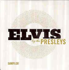 Elvis presley-ELVIS by the Hit sampler Card-ps
