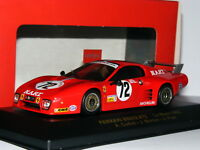 IXO FER016 Ferrari BB512 LM NART 1982 Le Mans #72 1/43