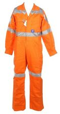 WORKSENSE Hi-Vis Combination Overalls, Size 77R, Heavy Weight, 3M Reflective Ta