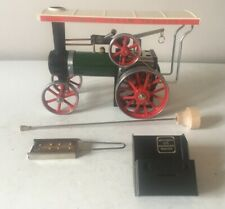 MAMOD TE1A LIVE STEAM TRACTION ENGINE WITH BURNER ETC ~ V.GOOD UNFIRED CONDITION