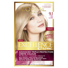 L'Oreal Excellence 9.1 Light Ash Blonde