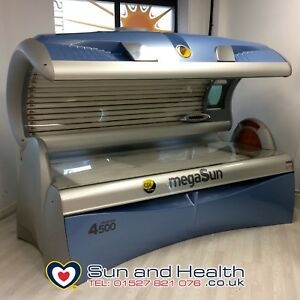 Megasun 4500 Ultra Power Tanning Bed! Brand New 250w Lamps Choice of Colours!