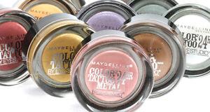 MAYBELLINE Color Tattoo 24hr Gel Cream Eyeshadow SEALED - various shades