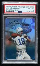 New listing 1999 Playoff Prestige SSD Spectrum Blue /500 Peyton Manning #B053 PSA 8 HOF
