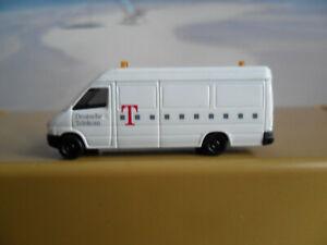 """MB Transporter """"Telekom"""" Auto PKW Fahrzeug 1:160 von Busch Spur N 41"""
