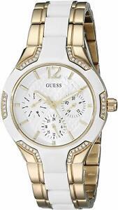 Guess U0556L2 Gold-Tone Guess Iconic Multi-Function Women's Watch