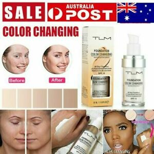 Magic Flawless Color Changing Foundation TLM Makeup Change To Your Skin Tone DM
