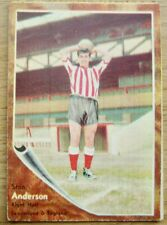 A&BC FOOTBALLER TRADE CARDS MAKE-A-PHOTO #21 Stan Anderson Sunderland