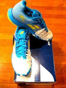 Babolat Jet Mach II All Court Mens Tennis Shoes - Malibu Blue