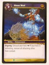 WoW: World of Warcraft Cards: GHOST WOLF 110/361 - played