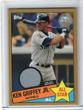 Ken Griffey Jr. 2020 Topps 2 Gold 1985 35th Anniversary Jersey 10/50 Mariners