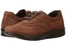 SAS Women's Walk Easy Lace Up Walking Shoes, Chocolate Nubuck ( 2380-076 )
