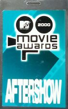 *** MTV *** 2000 MOVIE AWARDS - AFTER SHOW - LAMINATED BACKSTAGE PASS - PERFECT