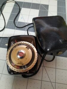 Vtg GE General Electric PR-3 Photography Exposure Light Meter