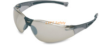 Uvex Honeywell I/O Silver Mirror Lens Safety Glasses AntiFog UVExtreme A804