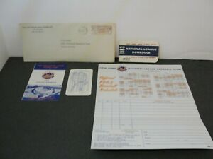 Vintage 1963 New York Mets Baseball Schedule + Ticket Order