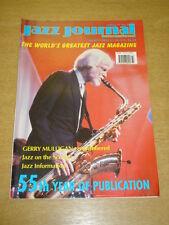 JAZZ JOURNAL INTERNATIONAL VOL 55 #3 2002 MARCH GERRY MULLIGAN DIZZY GILLESPIE