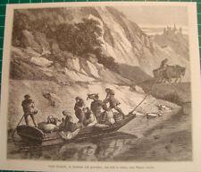 Antique print château Namur Namen kasteel gravure Graaf Hendrik