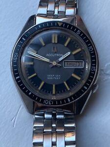 Bulova Accutron 1970s Vintage Watch