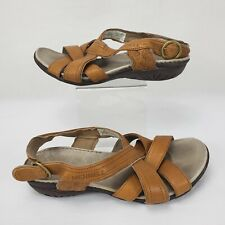 Merrell Bassoon Women Leather Flat Sandal, 6 / 37