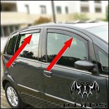 Set 4 Deflettori Aria Antiturbo Oscurati Fiat Idea e Lancia Musa