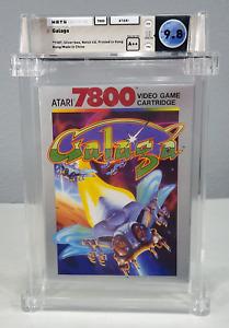 Galaga - Graded Wata 9.8 Sealed A++ Atari 7800 1986 USA