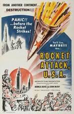ROCKET ATTACK, U.S.A. Movie POSTER 27x40 John MacKay Monica Davis Daniel Kern
