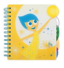 Disney Store Pixar Inside Out Journal Adults Kids Joy Sadness Fear Anger Disgust