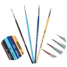 4Pcs/set Acrylic French Pen Brush Painting Drawing Liner Nail Art  Kit
