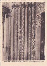FERRARA - La Cattedrale - Particolare del Portale Maggiore