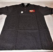 Munsingwear Hills Bros Coffee  Racing Men's Shirt Size Large