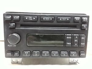 05 2005 Mercury Mountaineer Ford Explorer AM FM XM CD MP3 radio receiver OEM