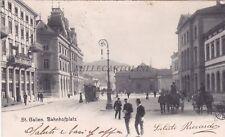 SVIZZERA - St.Gallen - Bahnhofplatz 1910