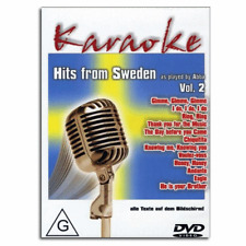 Karaoke DVD - The Greatest Hits of Abba-Thank you for the Music-NEW